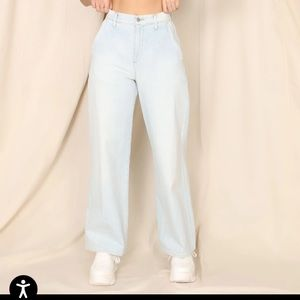 NWT Esther Wide-Leg Trouser Jeans
